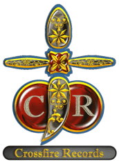 CrossFire Records Cross Logo Gold